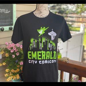 💚Seattle Emerald City Comicon T-Shirt